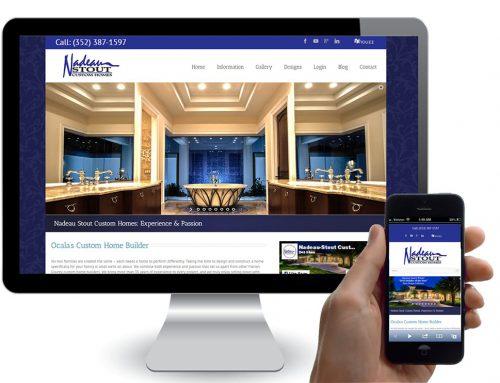 Builder and Developer Custom Website Design