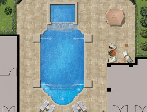 Club House Pool Map