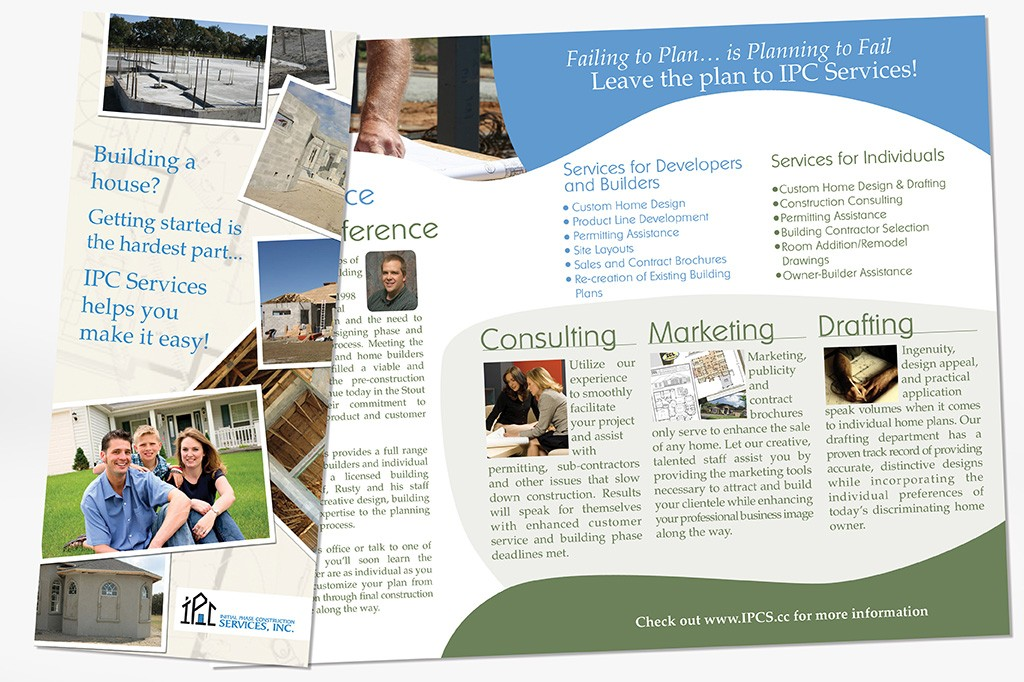 builder and developer marketing tools websites brochures signs